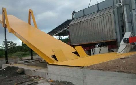 3. volcadores hidraulicos para camiones