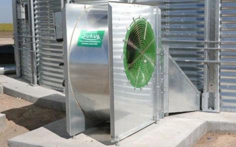 sistemas de aireacion en silos y bodegas