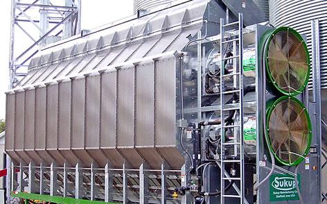 secadoras de grano marca sukup